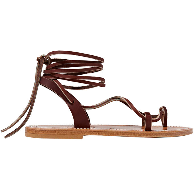 <p>Sandal Style: Leather Lace-Ups</p>