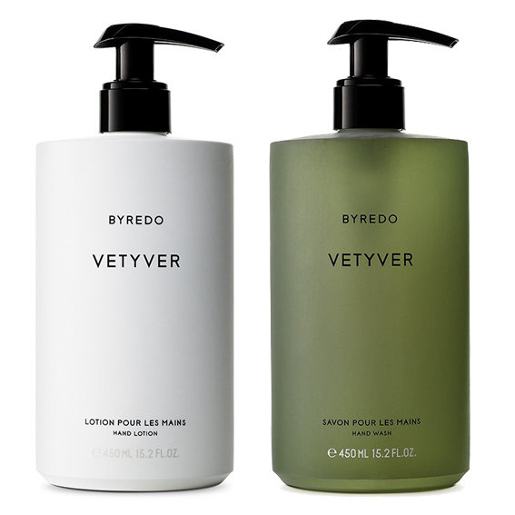 <p>Byredo Vetyver Hand Lotion and Soap</p>
