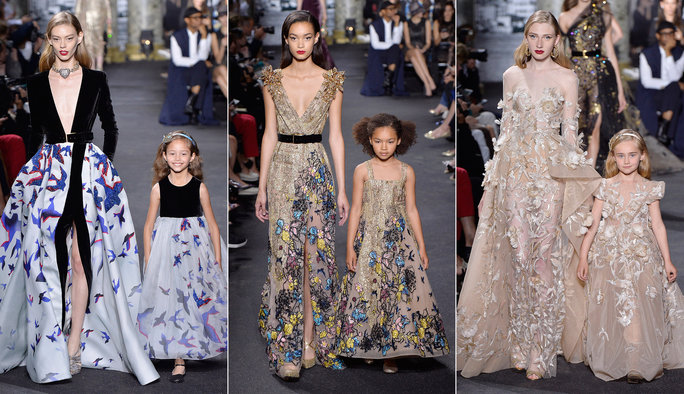 Elie Saab Debuts Mommy-and-Me Looks