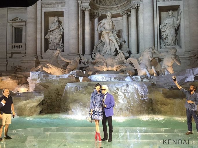 <p>Fendi's 90th Anniversary Runway Show Included Models Walking on Water</p>