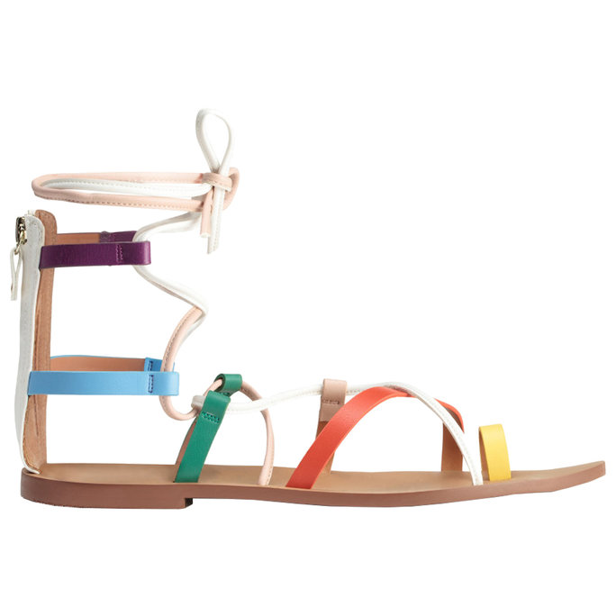 H&M Multi-Colored Sandals