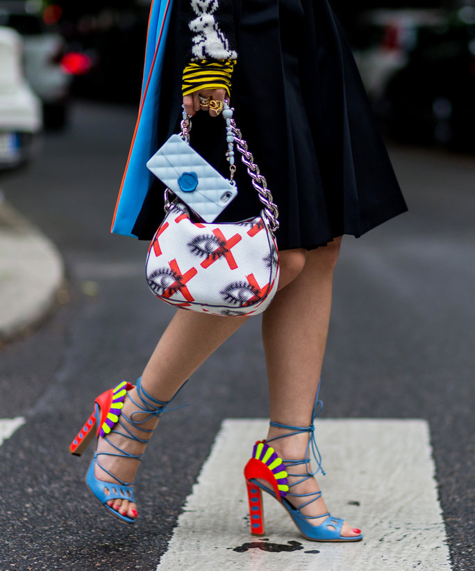 Colorful Bags and Shoes - LEAD