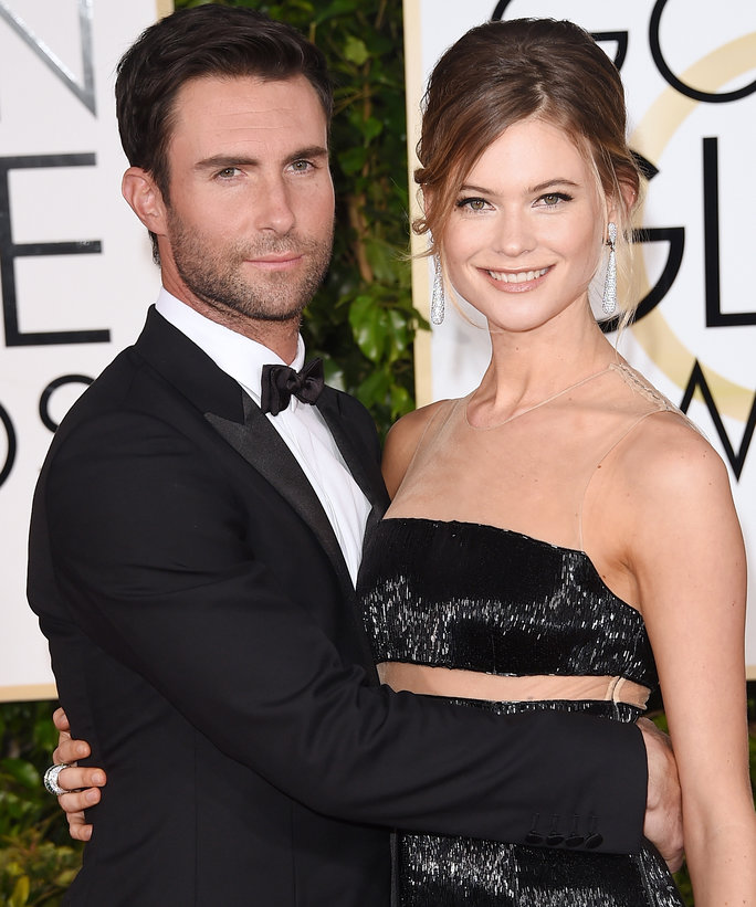 Birth Announcements - Behati and Adam