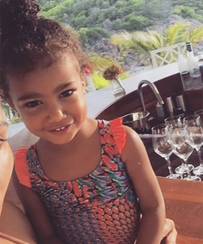 You'll Never Guess What North West Wears to Her Violin Lessons