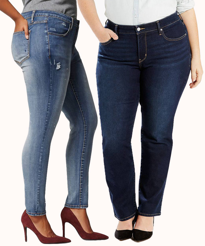 Plus Size Jeans - Lead 2016