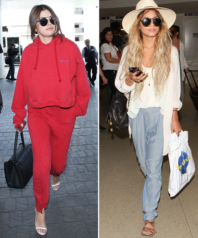 These Celebs Will Make You Want to Try Airport Athleisure