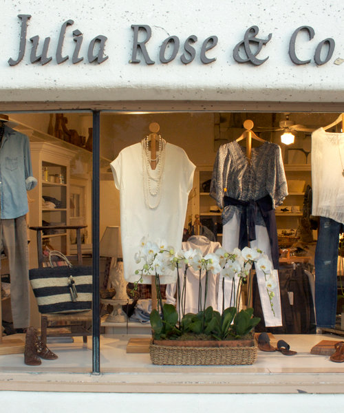 <p>Julia Rose &amp; Company</p>