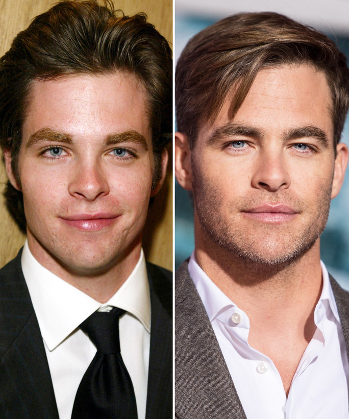 See Birthday Boy Chris Pine's Transformation from Teen Heartthrob to Distinguished Leading Man