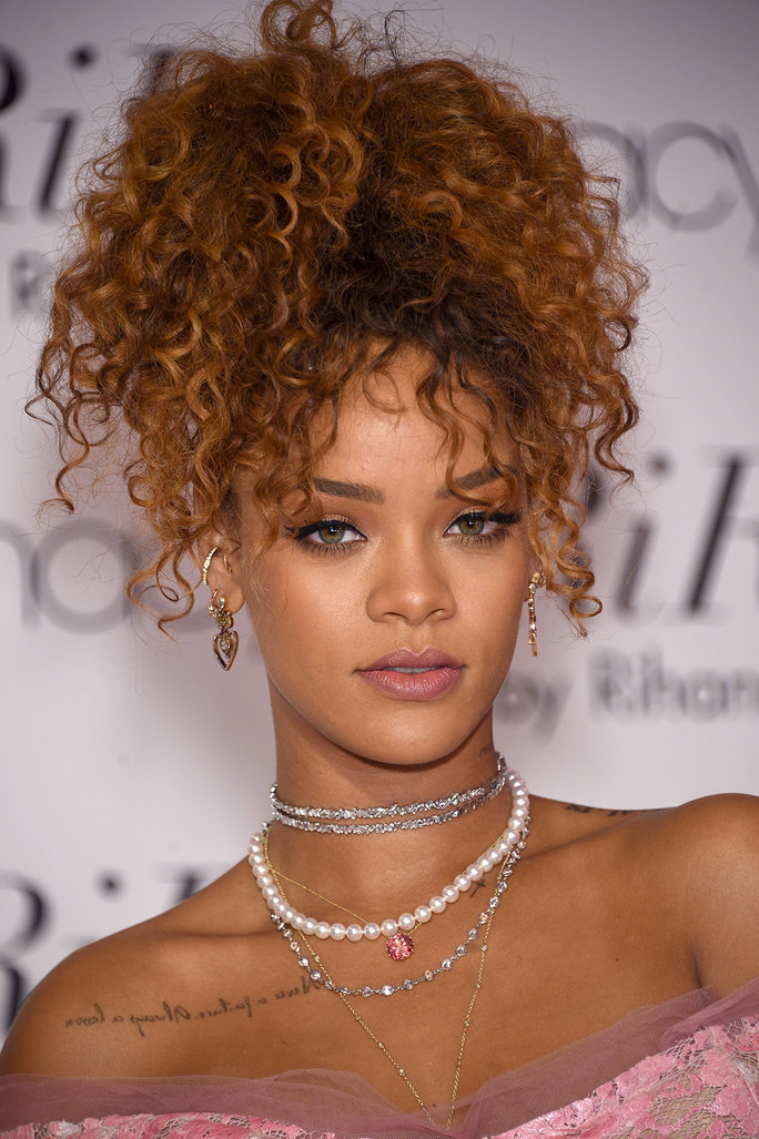 Rihanna Pineapple Ponytail - Lead