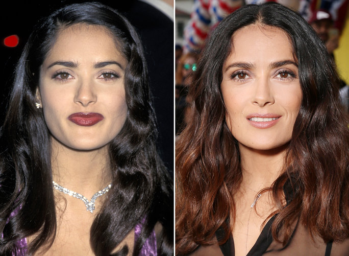 Happy 50th Birthday, Salma Hayek! See Her Transformation Through the Years