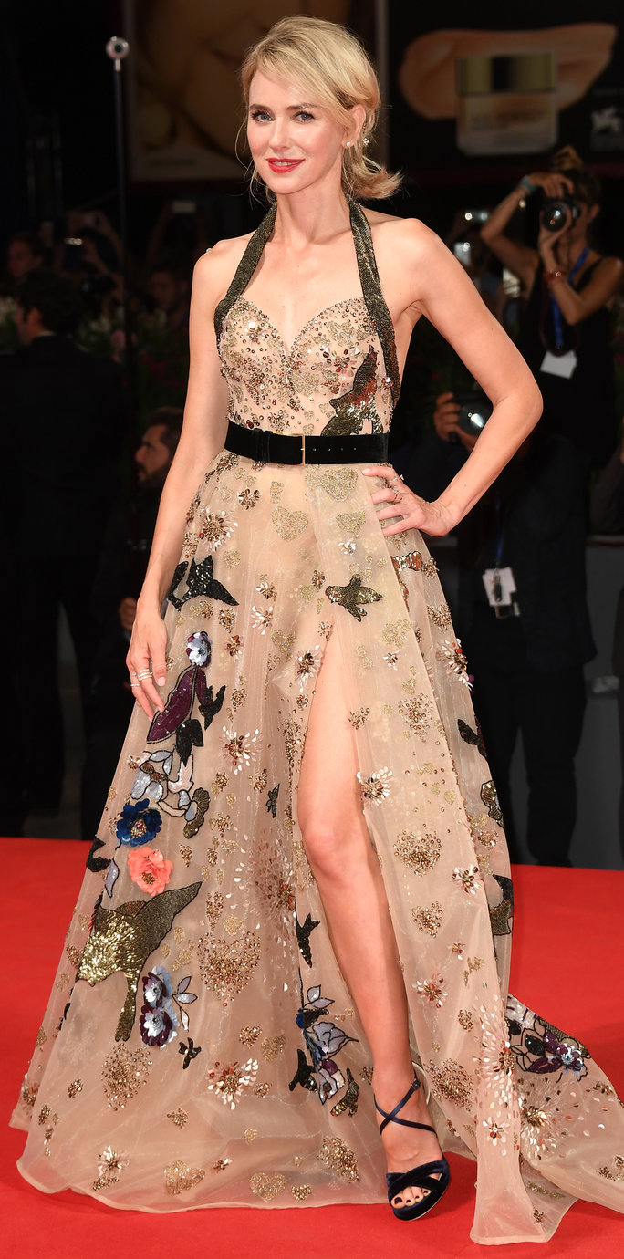 In Elie Saab Couture, 2016