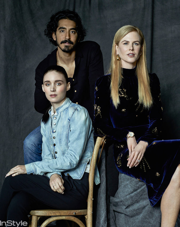 Rooney Mara, Nicole Kidman, and Dev Patel, Lion