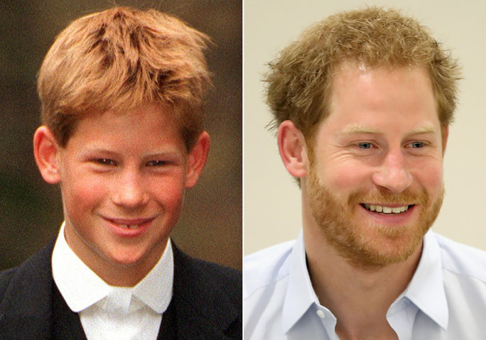 Wishing Prince Harry a Happy 32nd Birthday: See the Royal's Changing Looks