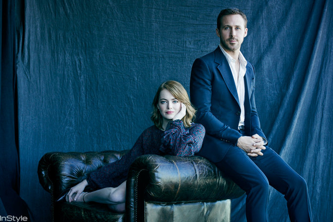 Clone of Emma Stone & Ryan Gosling of La La Land