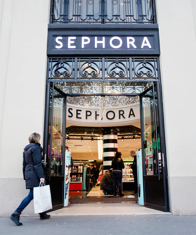 "<p>A shopper enters a Sephora SA cosmetics store in Paris, France, on Wednesday, Feb. 5, 2015. The European Commission is ""limited"" in the flexibility it can offer France under the euro area's stability pact because the country's budget gap remains too wide,</p>"