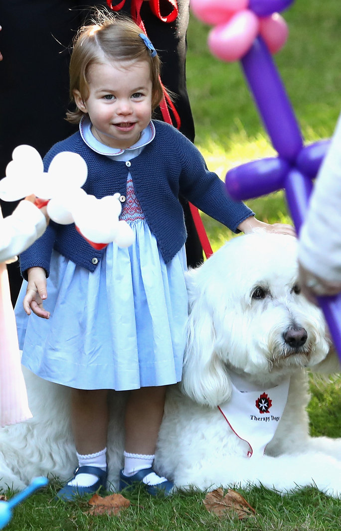 And Princess Charlotte steals our hearts with a smile