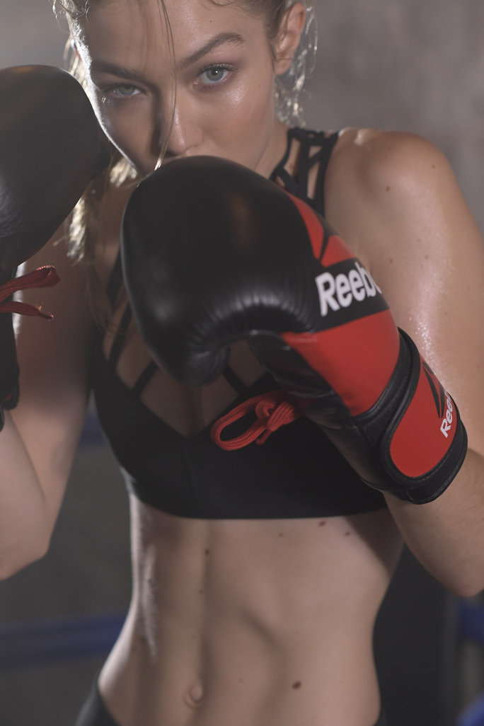 Gigi Hadid Is the Ultimate Boxing Champion in Reebok's Inspiring New #PerfectNever Campaign