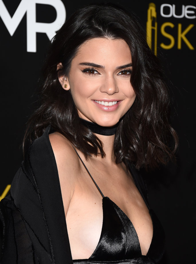 Kendall Jenner Wore the Tiniest Glitter Minidress to Her Birthday Bash