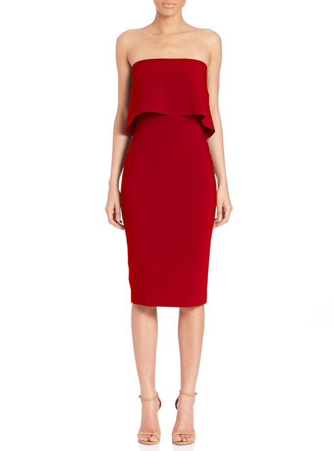 <p>LIKELY Driggs Strapless Dress</p>