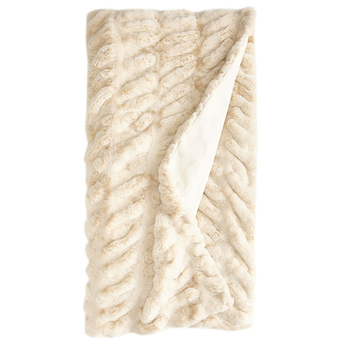 <p>Faux-Mink Throw Blanket</p>