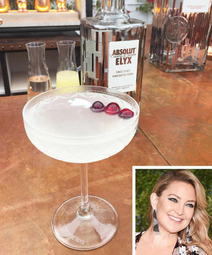 Kate Hudson Halloween Cocktail - Lead 2016