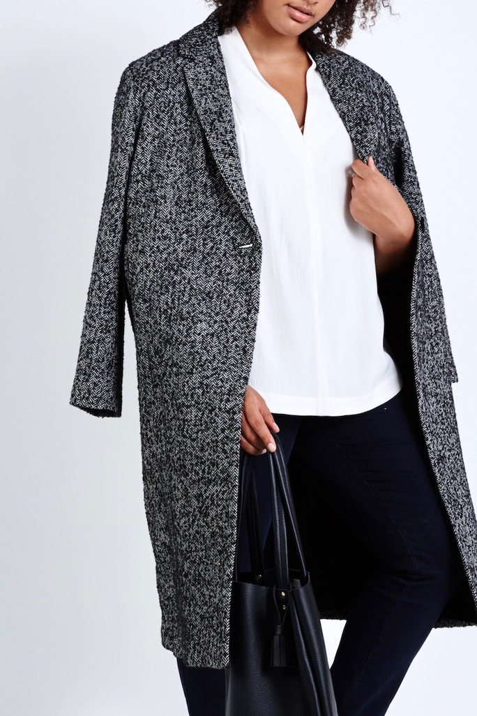 Your Guide to the Best Plus-Size Coats of the Season