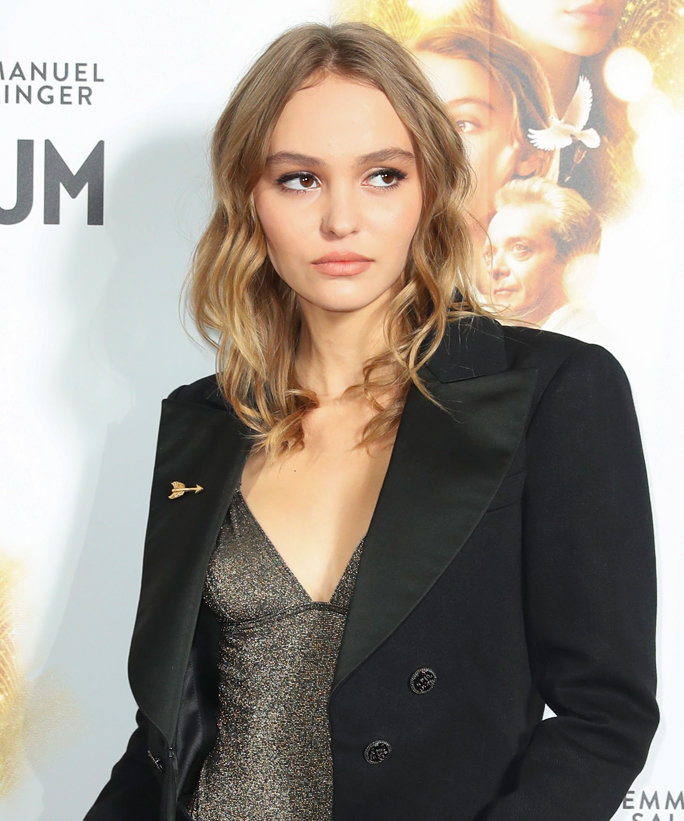 Lily-Rose Depp Shuts Down a Paris Red Carpet in Chic Separates