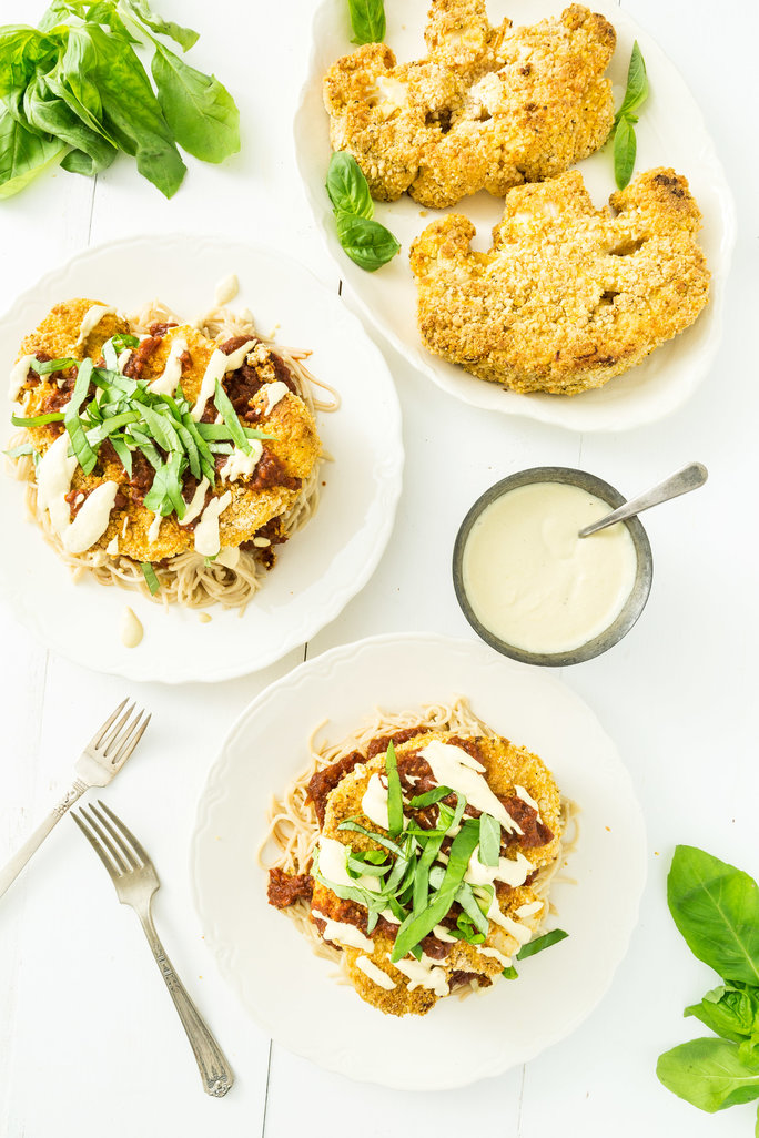 Cauliflower Parmigiana Recipe Lead