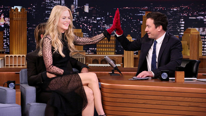 Nicole Kidman on The Tonight Show - Video Lead