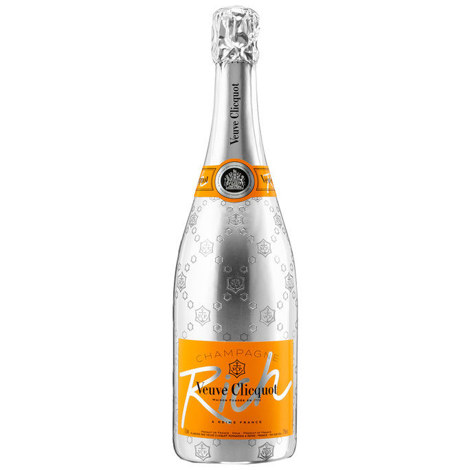 <p>Veuve Clicquot, Rich</p>