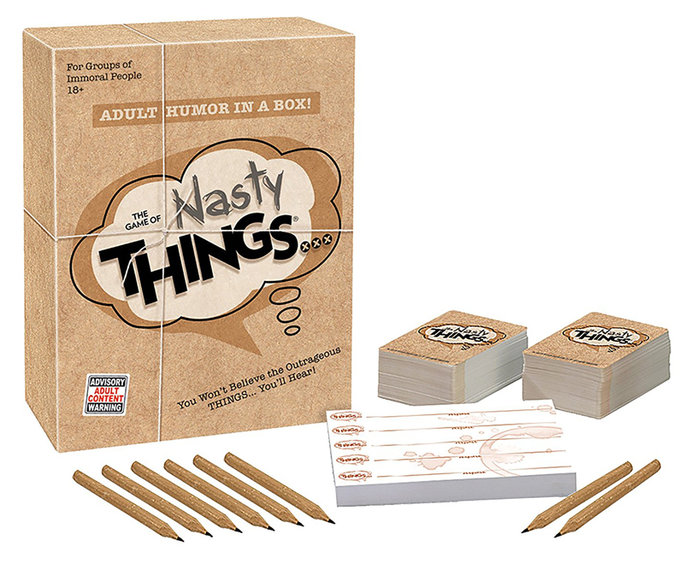 <p>The Game of Nasty Things</p>