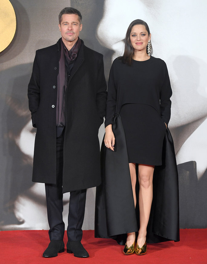 Marion Cotillard Wears a Revolutionary Maternity LBD at the <em>Allied</em> London Premiere