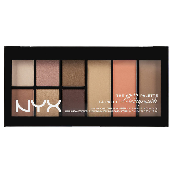 <p>NYX Go To Eyeshadow Palette in Wanderlust</p>