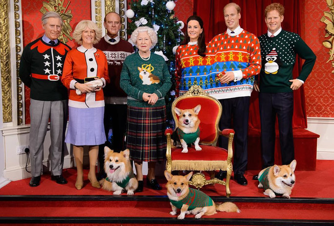 Royal Family Ugly Sweaters - LEAD
