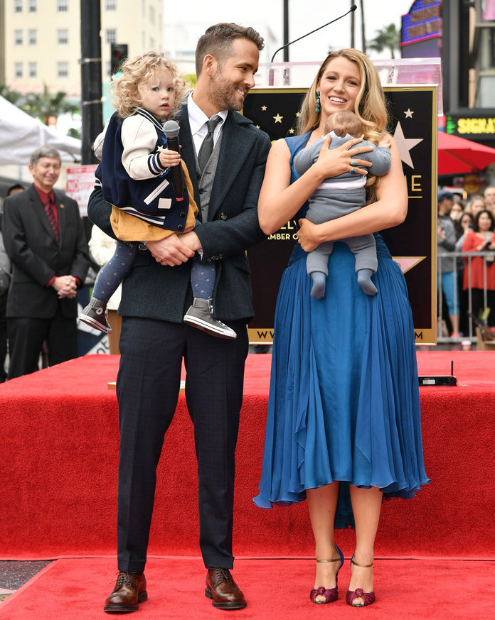 <p>Ryan Reynolds honored with star on The Hollywood Walk of Fame, Los Angeles, USA - 15 Dec 2016</p>