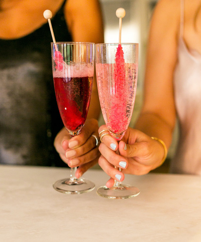 Lauren Conrad's New Year's Eve Cocktail Is a Pinterest Dream Come True
