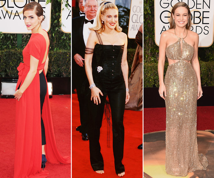The Riskiest Golden Globes Gowns <em>Ever</em>