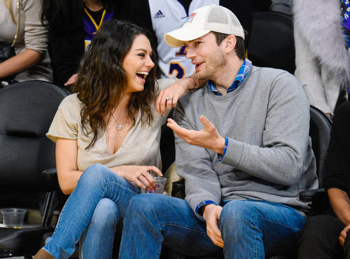 Ashton Kutcher and Mila Kunis Moments - LEAD