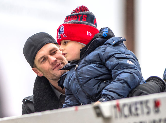 Tom Brady Superbowl Victory Parade - Embed 1
