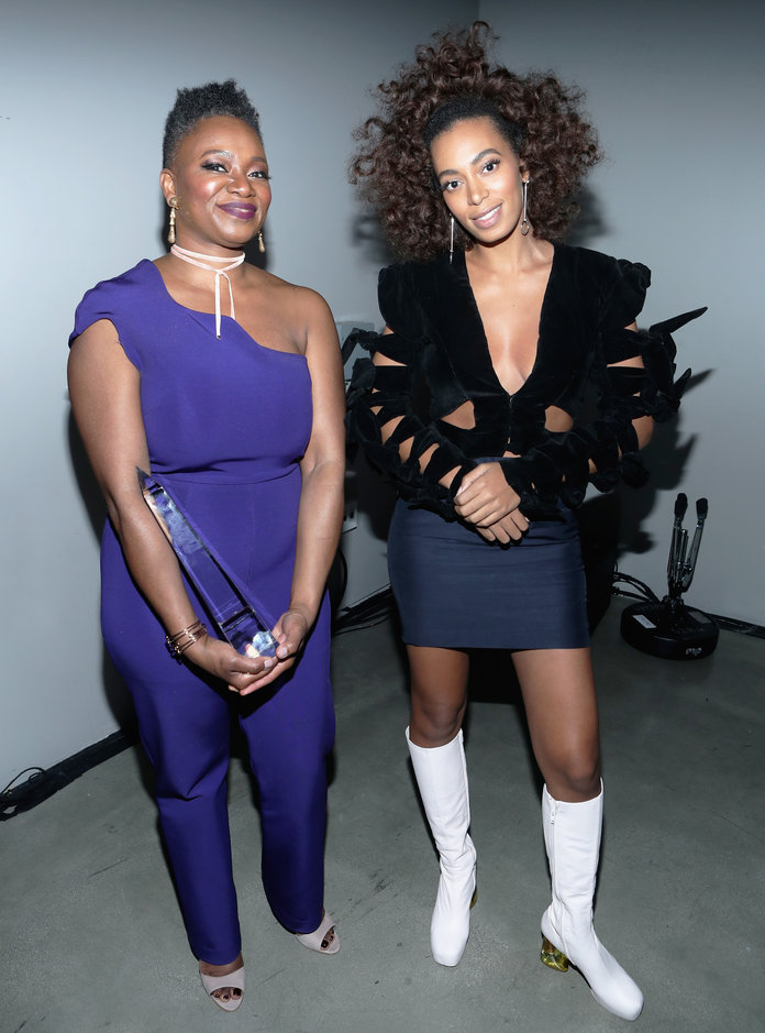 Vanessa DeLuca and Solange