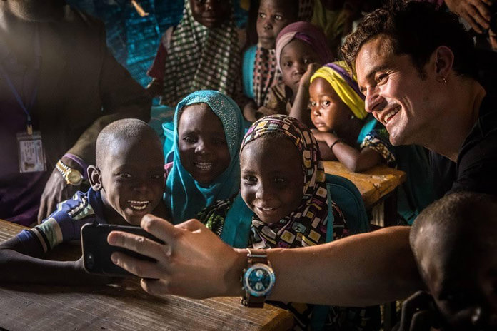 Orlando Bloom Unicef