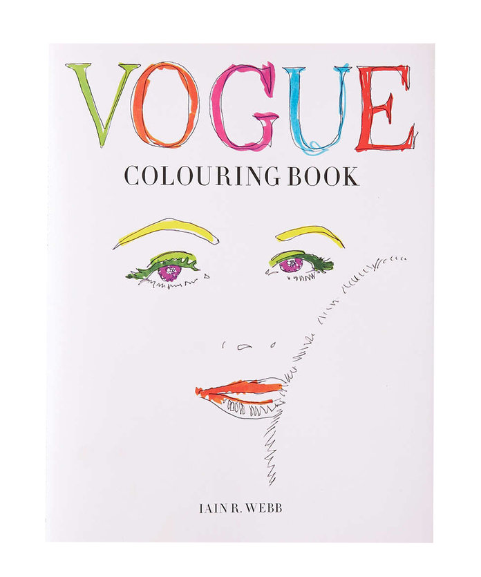 <p>Vogue Coloring Book by Iain R.Webb</p>