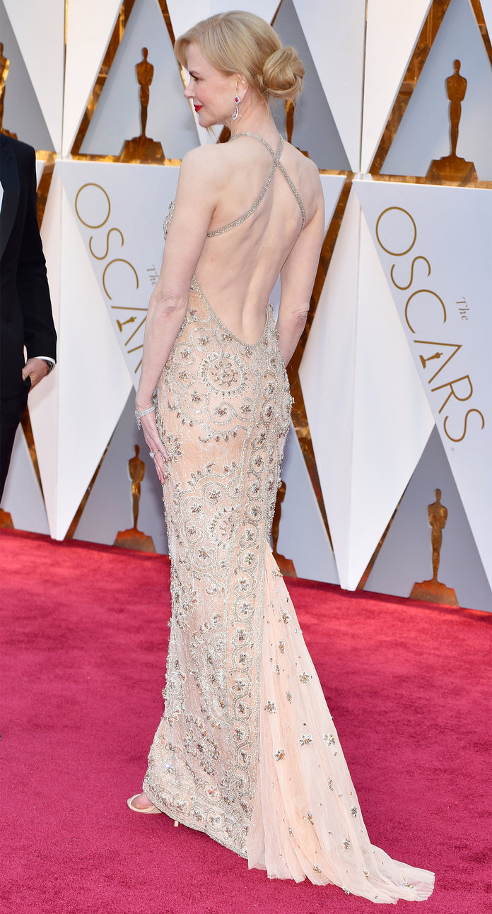 Nicole Kidman Dress Alterations 1