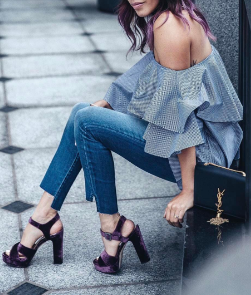 There Is A Pair Of Step Hem Jeans In This Edit For You...