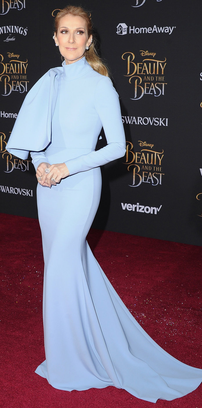 Why Celine Dion Got Choked Up at the Beauty and the Beast L.A. ...
