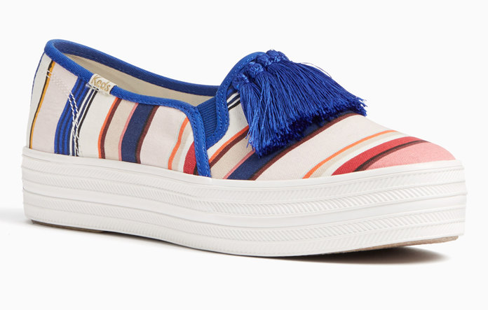 <p>STRIPED SNEAKERS</p>