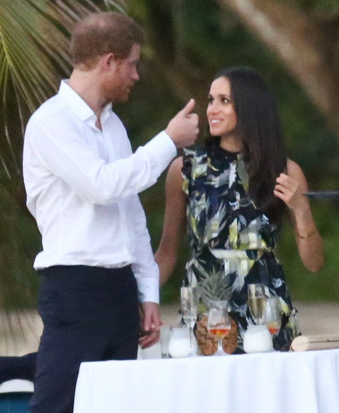 Prince Harry Holds Meghan Markle S Hand At A Friend S