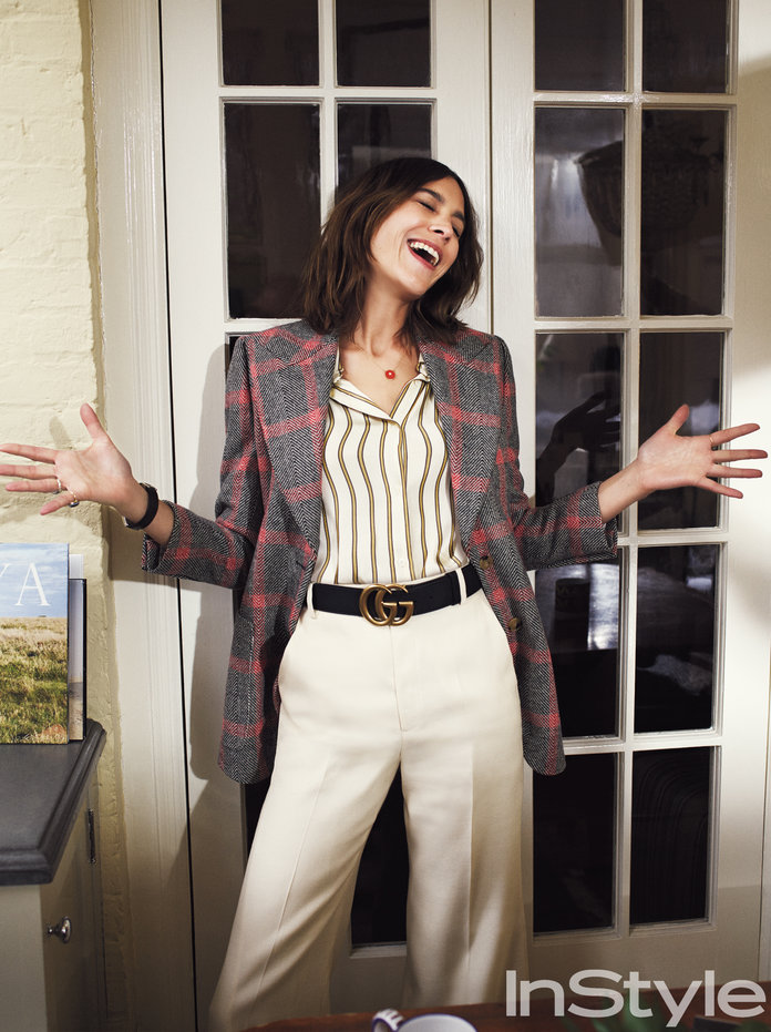 Alexa Chung Channels Annie Hall On The Iconic Film 39 S 40th