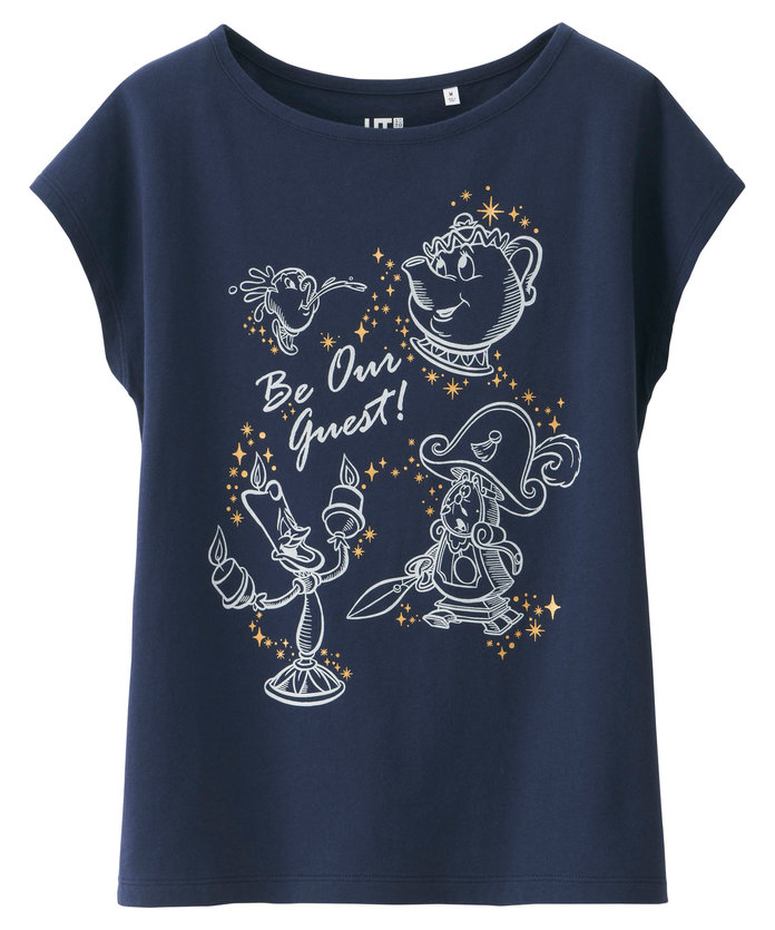 Girls Disney Beauty and the Beast Graphic Tee