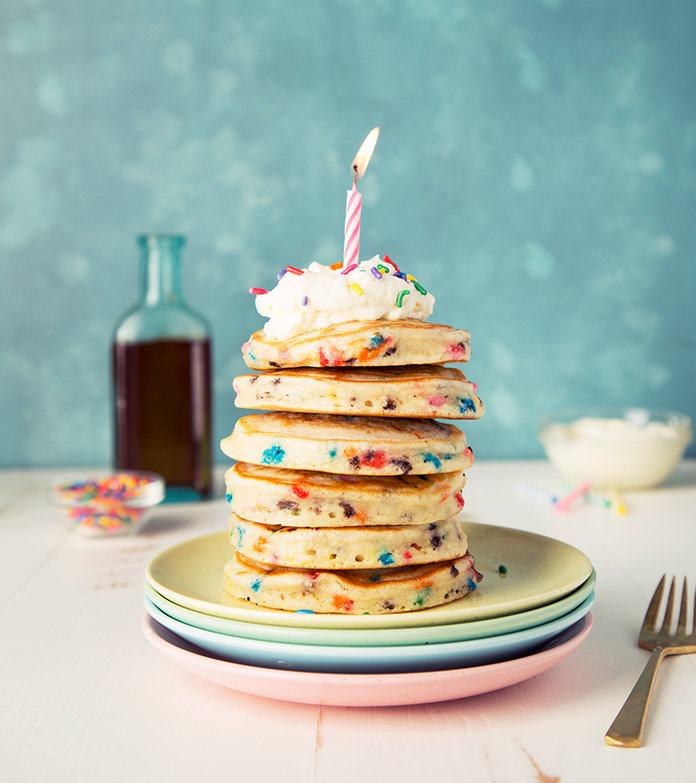 """These Pancakes Are the Ultimate Way to Say """"Happy Birthday"""""""